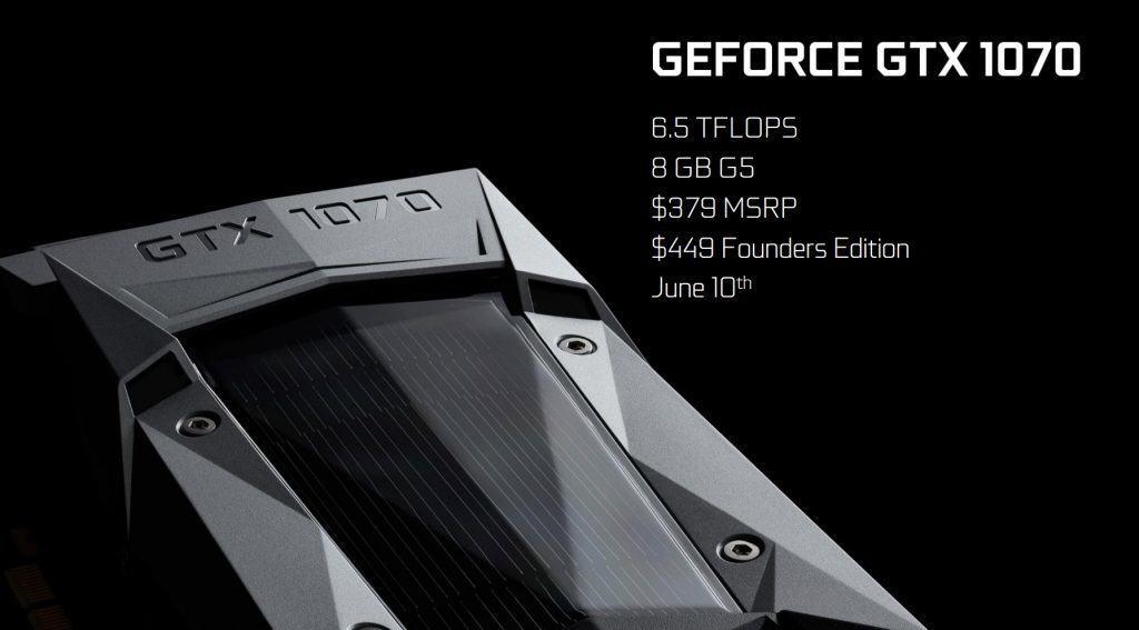NVIDIA GTX 1070 amazon