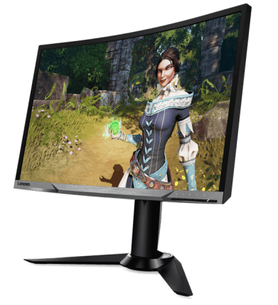 Lenovo Y27f: 27-inch 144Hz Curved VA FreeSync Gaming Monitor