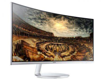 Samsung C34F791 gaming monitor
