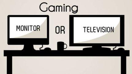 Monitor vs Gaming TV